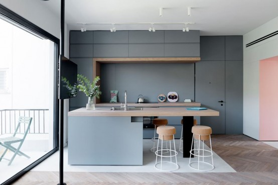 Modern And Smart Kitchen Island Seating Options