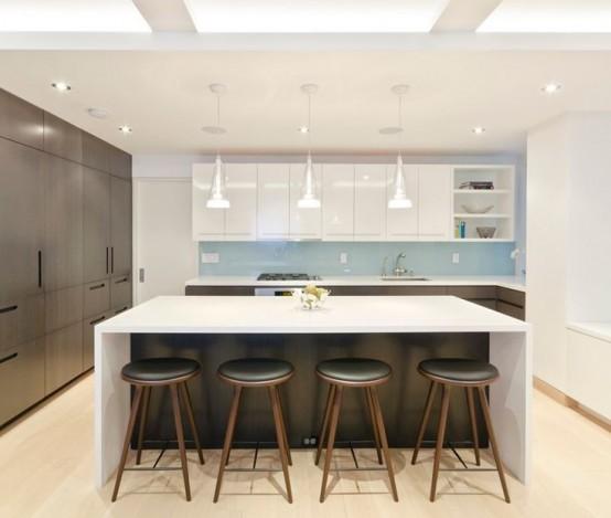 Nice Modern And Smart Kitchen Island Seating Options