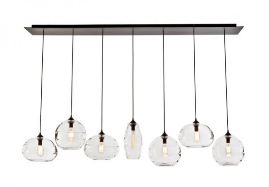 Modern And Stylish Clear Band Pendant Lamps Collection