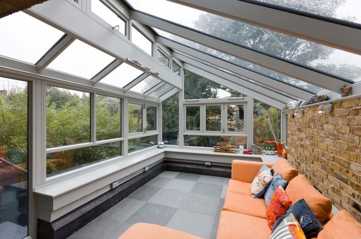 Picture Of Modern And Stylish Sunroom Design Ideas