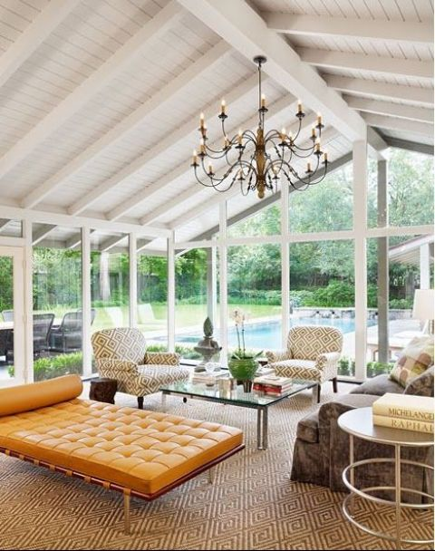 24 modern and stylish sunroom design ideas digsdigs Florida sunroom ideas