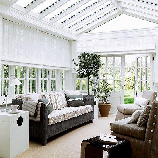 Modern And Stylish Sunroom Design Ideas