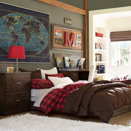 Modern Shared Boy Room: 55 Modern And Stylish Teen Boys' Room Designs