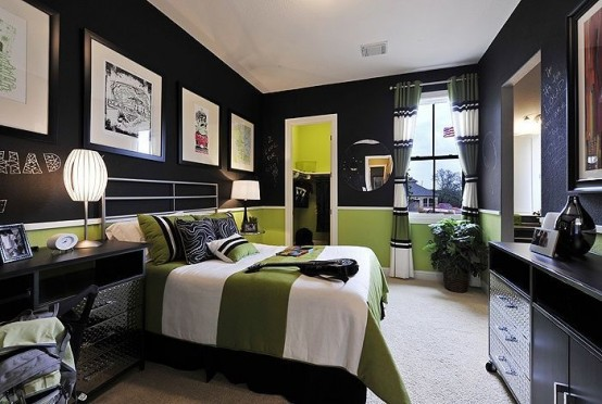 48 Modern And Stylish Teen Boys' Room Designs DigsDigs Classy Teenage Male Bedroom Decorating Ideas