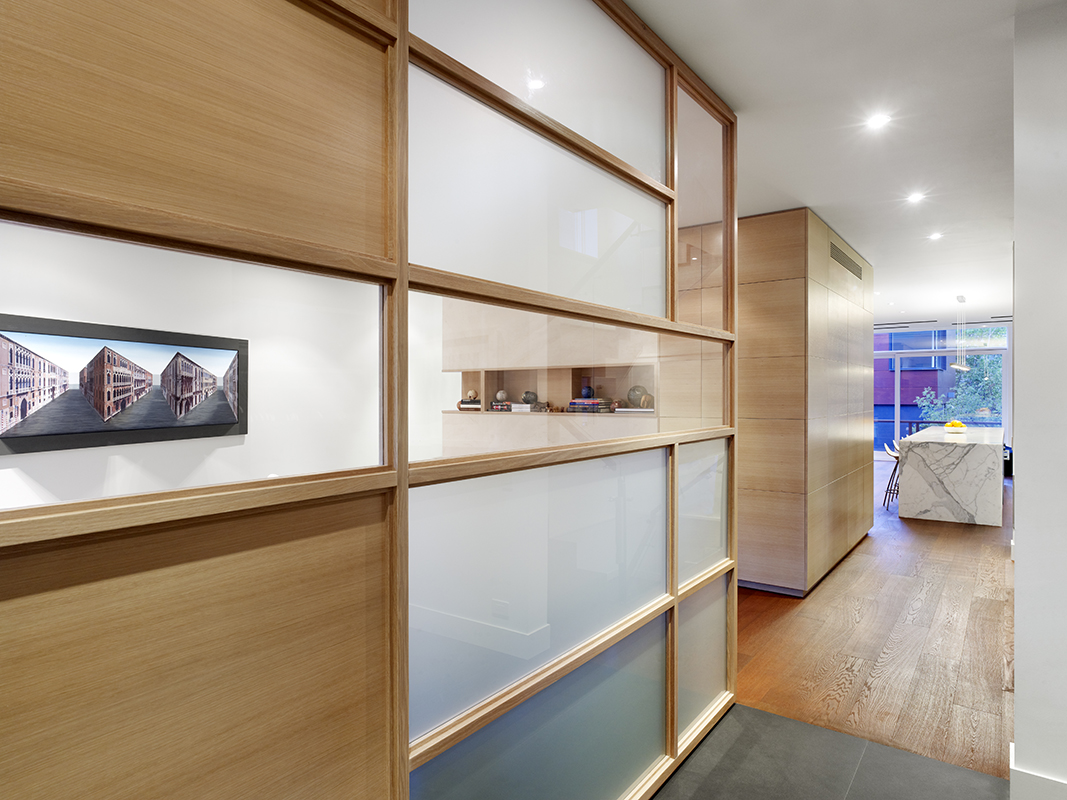 Modern Annex Home With Lots Of Wood In Decor