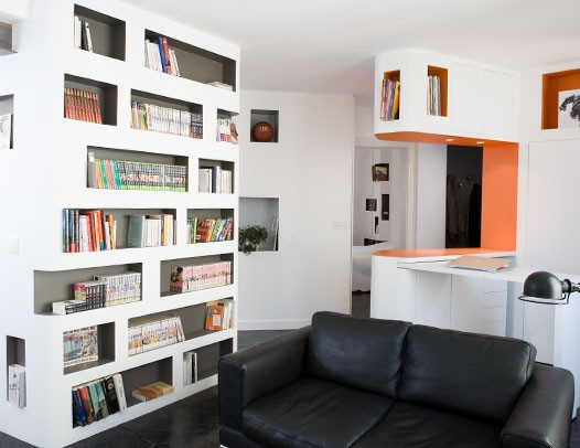 Modern Apartment For Comic Book Collector