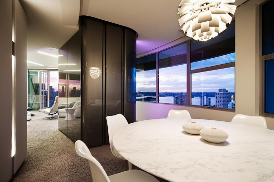 Modern Apartment Glamour Interior