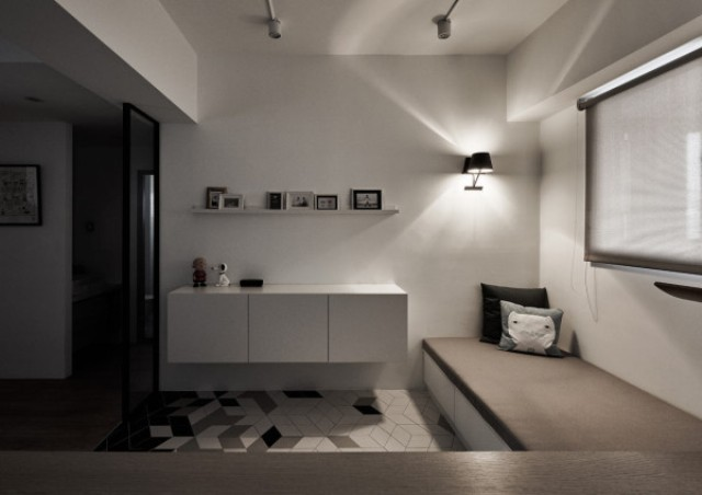 Picture Of modern apartment with scandi and mid century modern touches  6