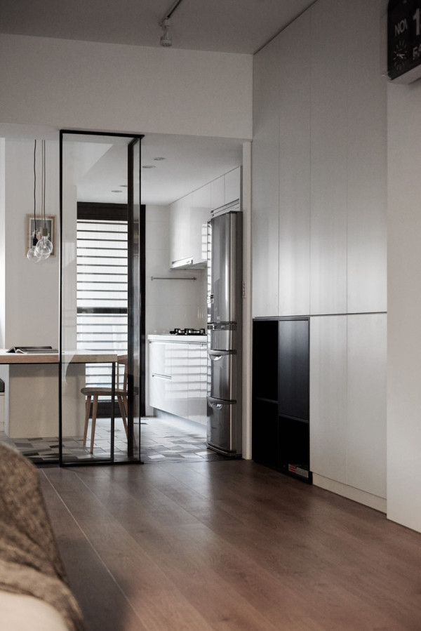 Picture Of modern apartment with scandi and mid century modern touches  7