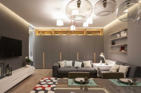 Modern Apartment With Stylish Laconic Design