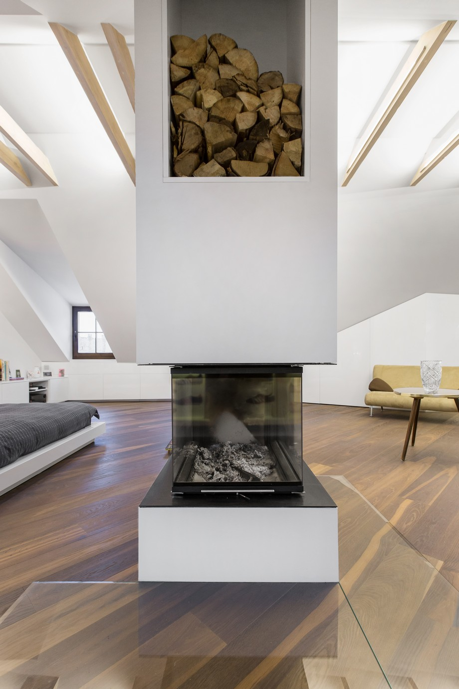 Modern Attic Apartment With Exciting Design And Stunning Views