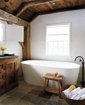 Modern Barn Bathroom
