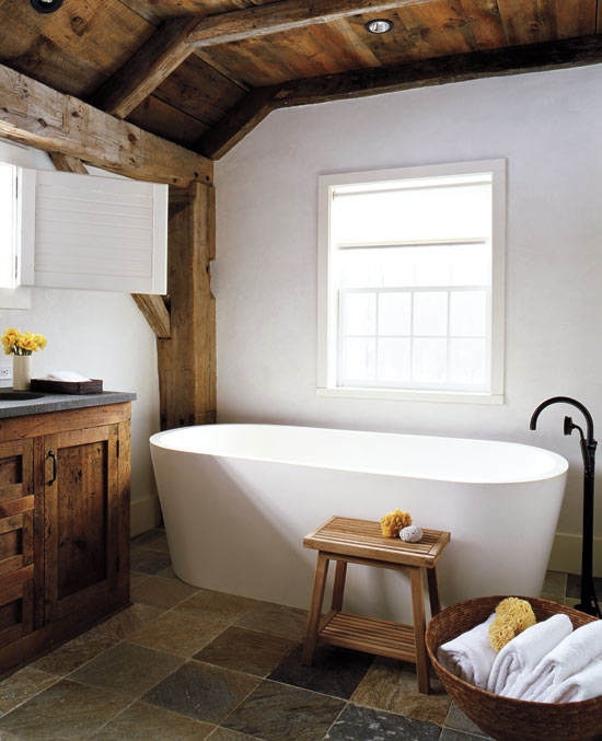 Modern Barn Bathroom