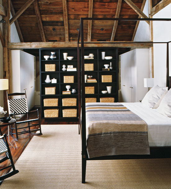 Modern Barn Bedroom