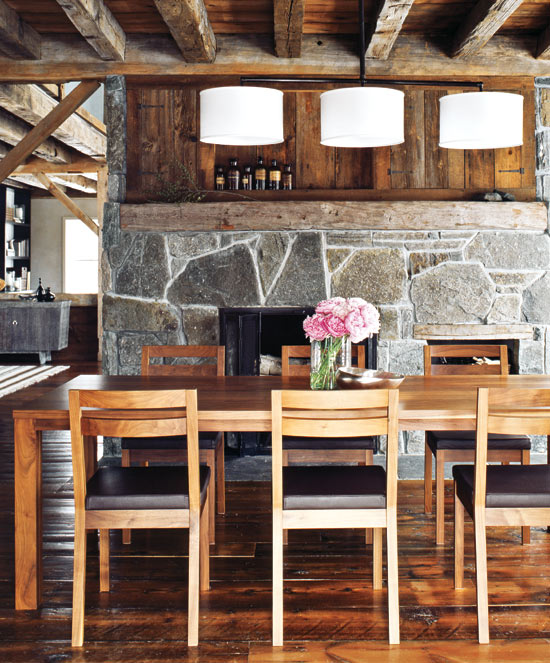 Modern Barn Dining