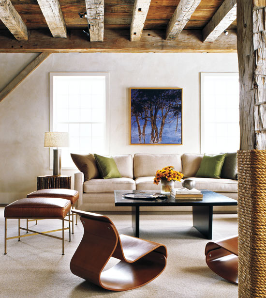 Modern Barn Seating
