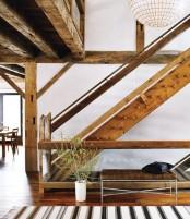 Modern Barn Stairs