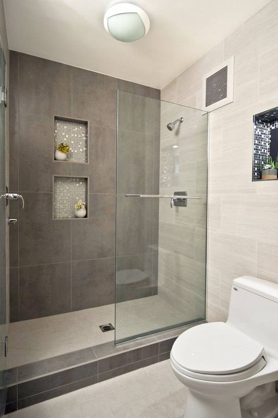 modern basement bathroom - Basement Bathroom Design