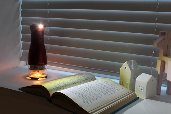 Modern Beacon LED Lamp With Candle Power