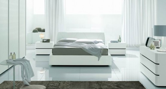 Modern Bed Domino Plus