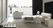 Modern Bed Trendy Frassino
