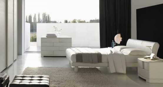 Modern Bed Trendy Frassino