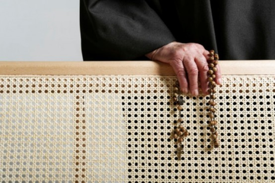 Modern Bernardes Bench With A Religious Connotation