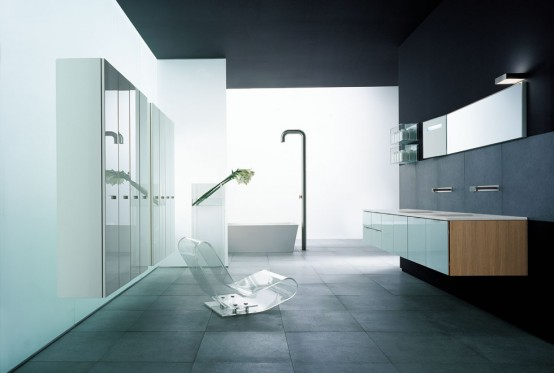 Modern Big Bathroom Inspiration