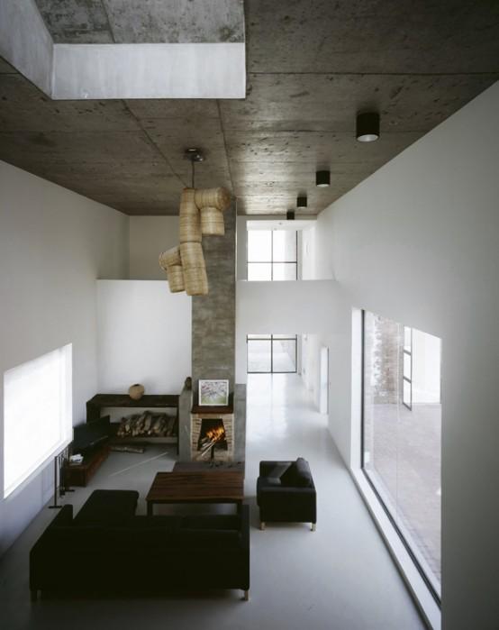 Modern Brick Home