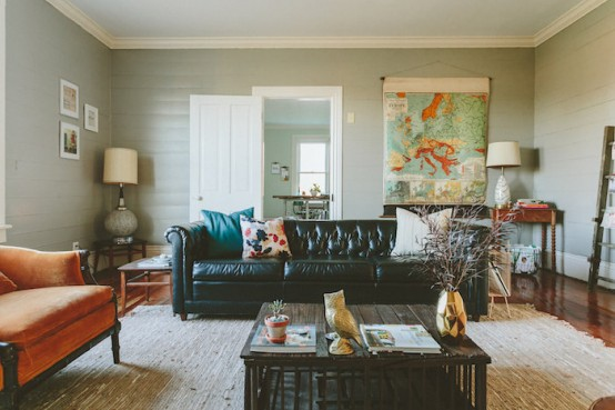 Modern Bright Farmhouse Decorated With A Homey Vibe
