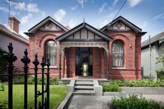 Modern Bright Home Design With A Historic Facade