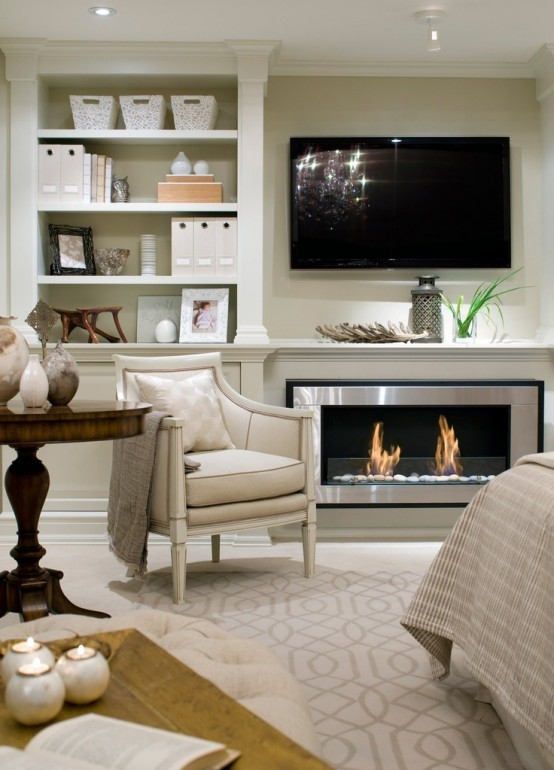 23 modern built in fireplaces to bring a cozy touch digsdigs - Candice olson fireplaces ...