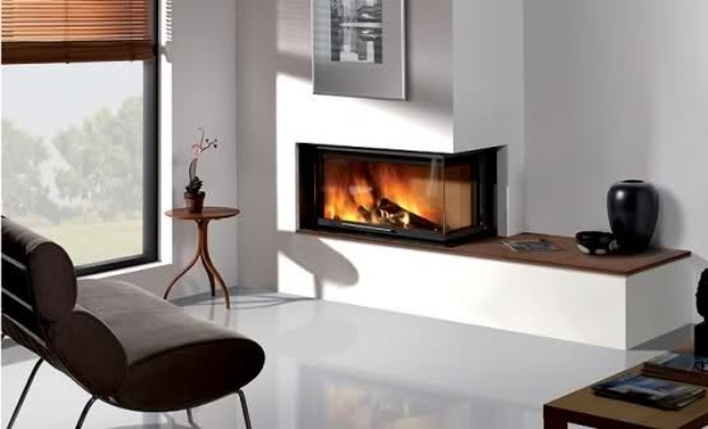 23 modern built in fireplaces to bring a cozy touch digsdigs for Garden rooms rocal