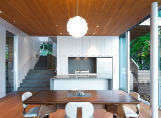 Modern Cabin In The Woods Gambier Island House