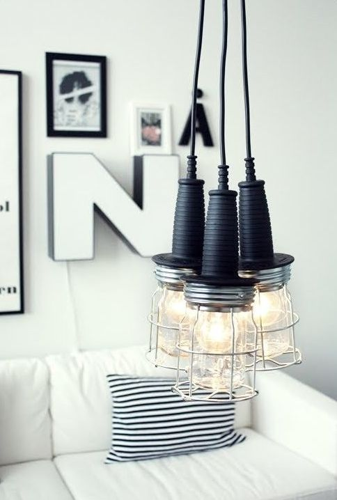 Modern Caged Lamps