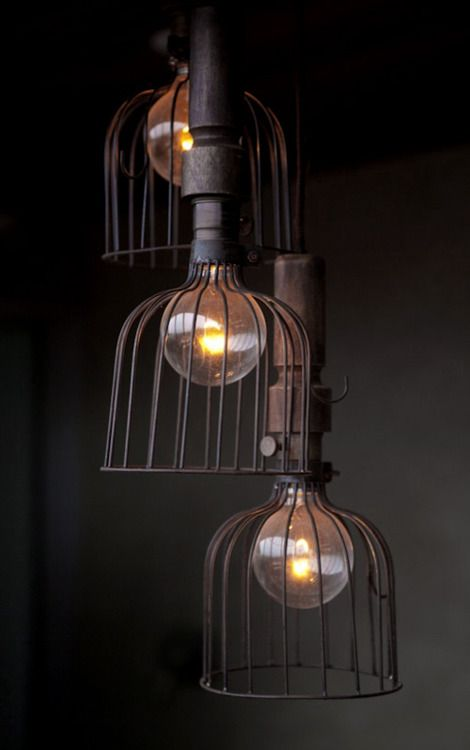 Current Lighting Trend 25 Modern Cage Lamps Digsdigs