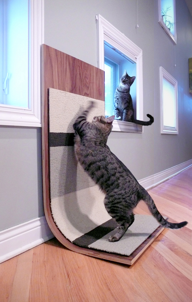 Modern Cat Scratcher