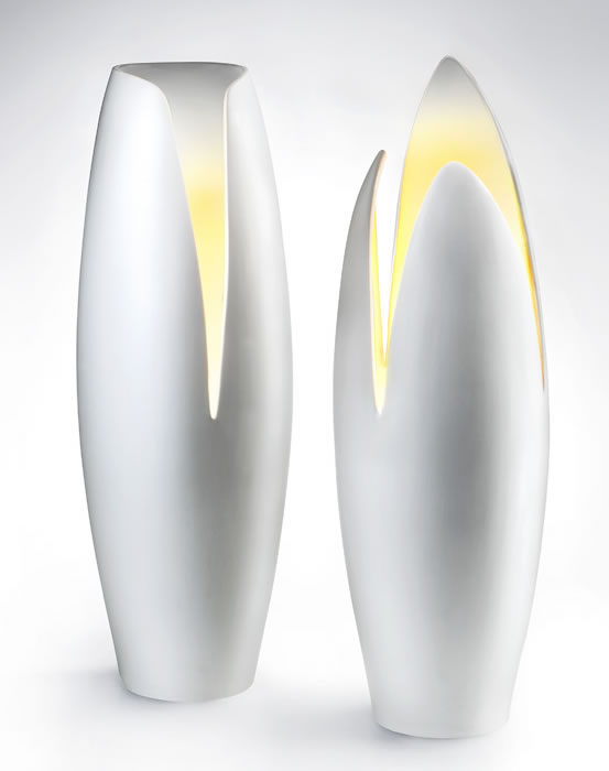 Modern Ceramic Lamps By Mamati
