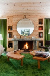 modern-chalet-with-wood-clad-interiors-and-touches-of-green-2