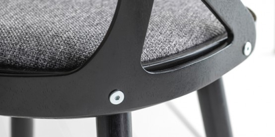Modern Colibri Chair With A Nordic Touch
