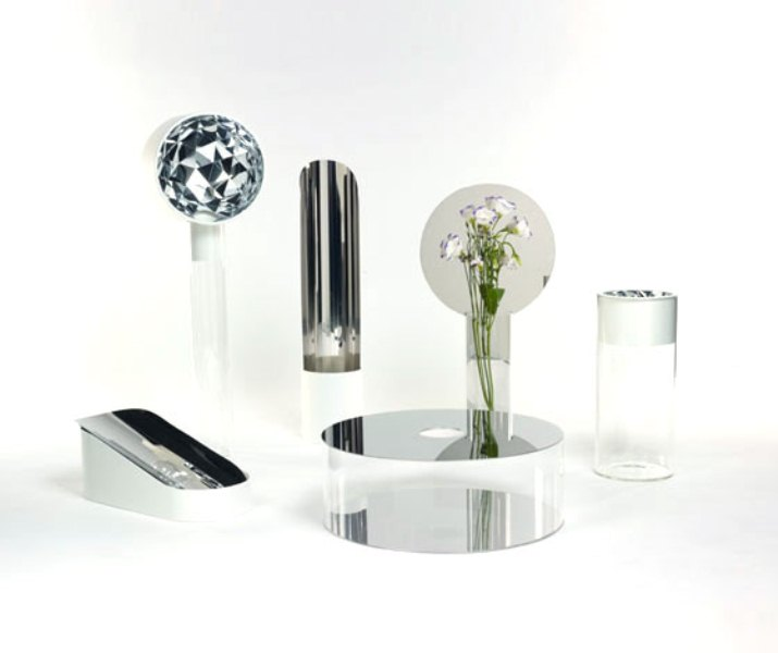 Modern Collection of Beautiful Mirror Vases