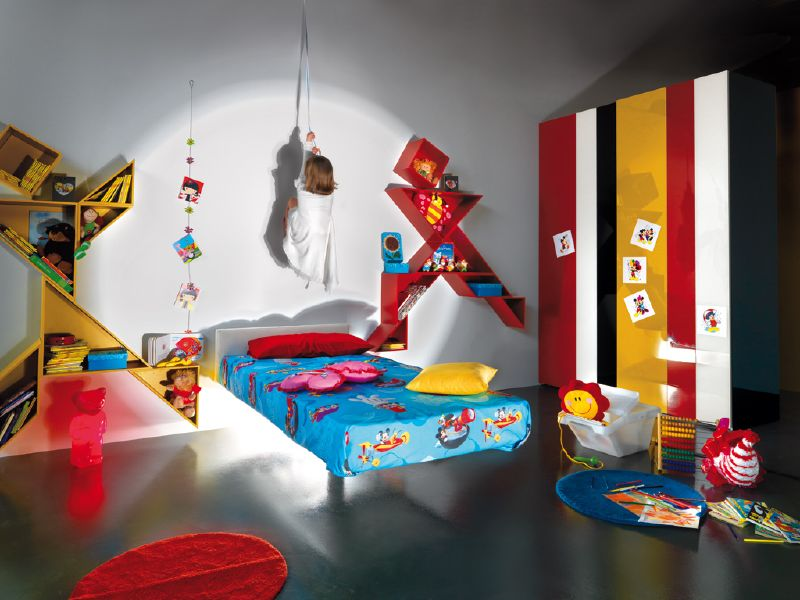 Modern Colorful Kids Room Design By Lago