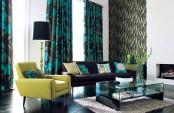 Modern Colorful Living Room Design