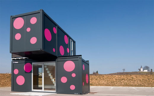 Small Container House Designs 520 x 325