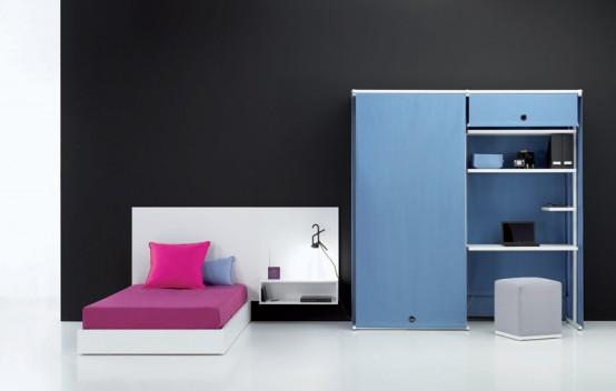 Modern Cool And Elegant Teen Room
