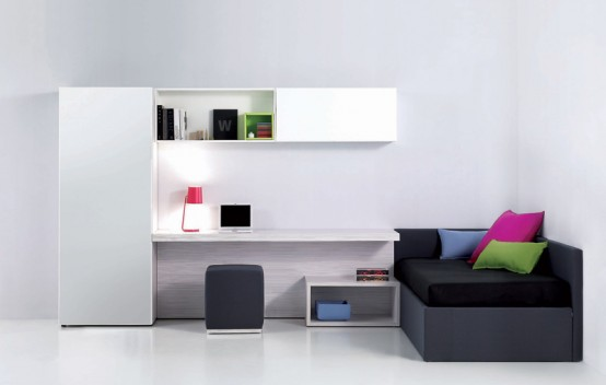 Modern Cool And Elegant Teen Room