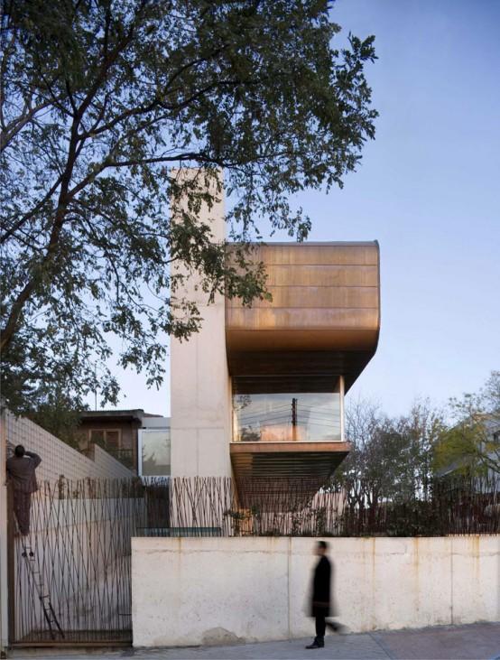 Modern Cooper Concrete House