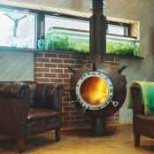 Modern Creative Fireplace Designs