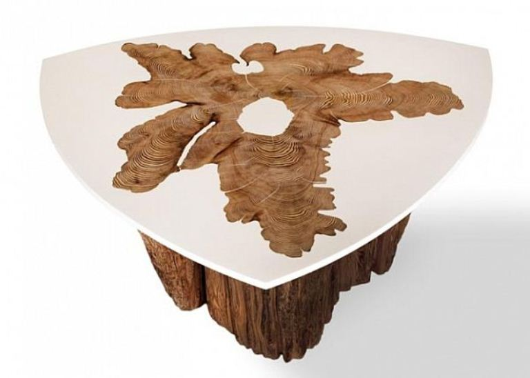 Modern Dining Tables Of Natural Wood