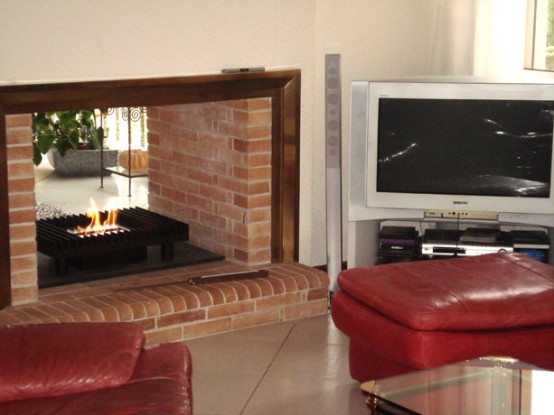33 real life examples of using modern fireplaces in home